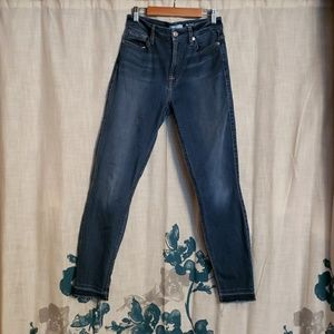 High waist ankle skinnies from 7 for all mankind